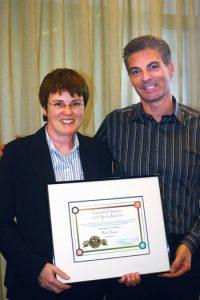 Karen Bonanno and Dr Marc Dussault